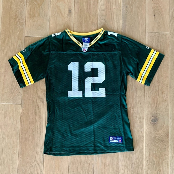 6dc05d74f3d Reebok Shirts & Tops | Green Bay Packers Kids Aaron Rodgers 12 ...